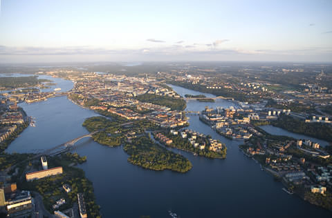 Stockholm is a city of islands.