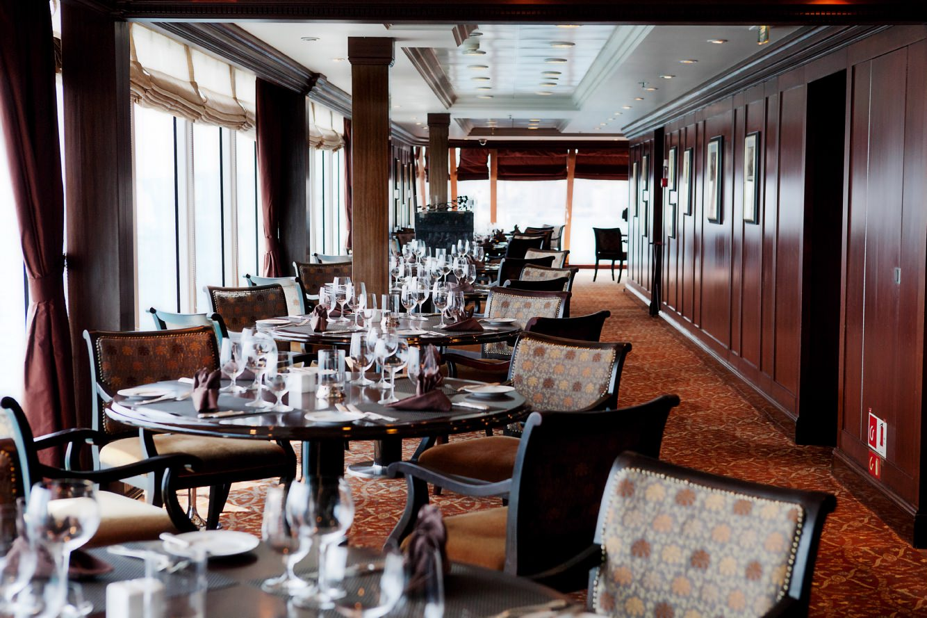 Elegant dining in Prime C aboard Azamara Journey. Photo courtesy of Azamara Club Cruises.