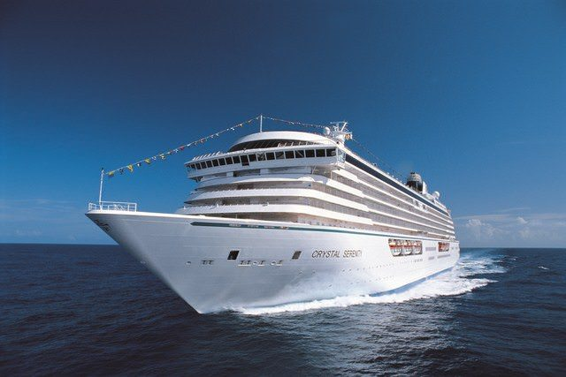 Crystal Serenity is the newest member of the Crystal Cruises fleet. Photo courtesy of Crystal Cruises