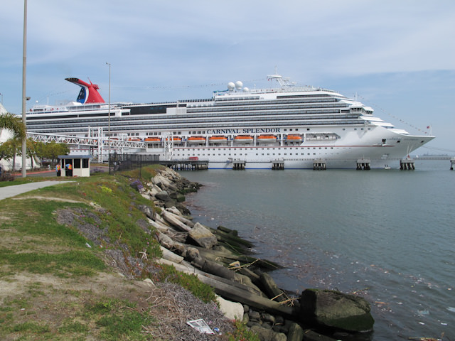 Carnival Splendor sails from Long Beach to the Mexican Riviera. Photo © 2011 Aaron Saunders