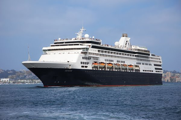 Holland America's Veendam has undergone a series of refurbishments recently, keeping her fresh and modern. Photo courtesy of Holland America Line