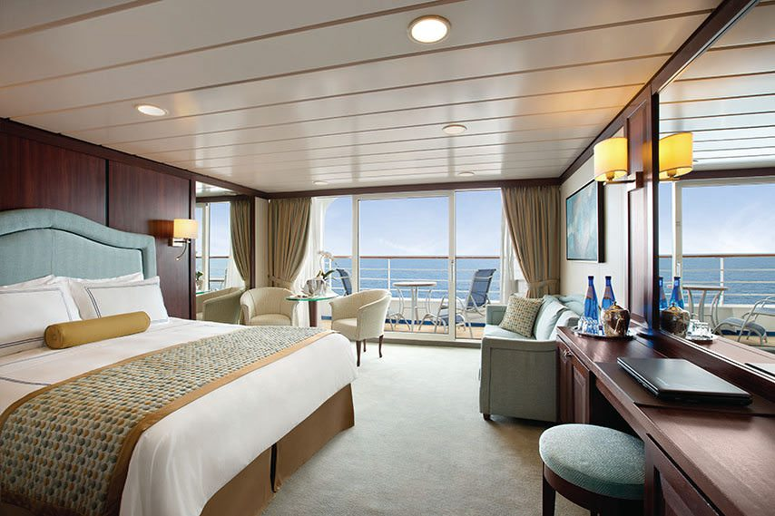For the true space maven, Nautica's Penthouse Suite is sure to impress. Photo courtesy of Oceania Cruises.