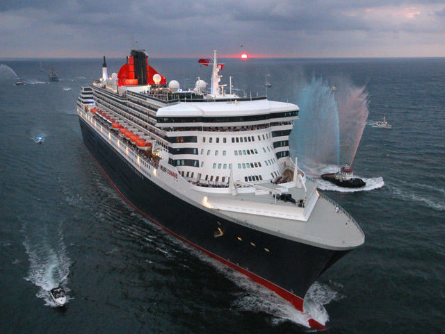 Cunard's iconic RMS Queen Mary 2 is the last true ocean liner at sea. Photo courtesy of Cunard.