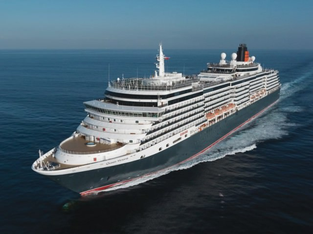 Cunard's Queen Victoria is based upon a modified platform similar to that of Holland America Line's Vista-class ships. Photo courtesy of Cunard.