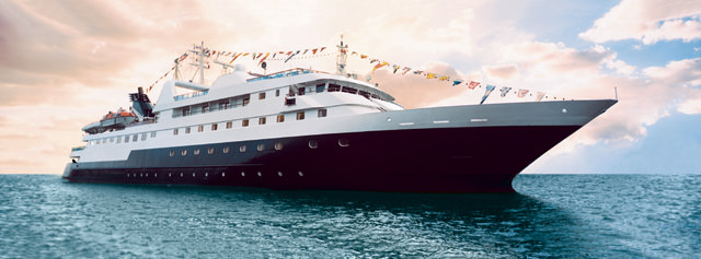 Celebrity Expedition is Celebrity's Galapagos-based expedition vessel. Photo courtesy of Celebrity Cruises