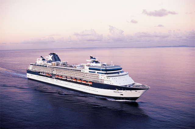 Celebrity Infinity set the direction of things to come for Celebrity. Photo courtesy of Celebrity Cruises