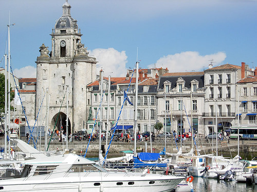 The Port Of La Rochelle France For Cruise Visitors