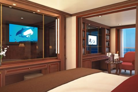 Your Veranda Suite awaits you on Silver Spirit's 2011 world cruise.