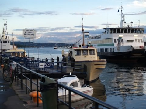 Hop to the ferry to Bygdøy to visit the maritime museums