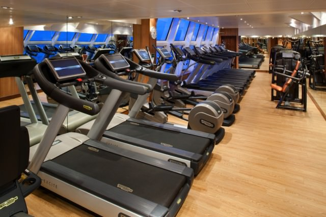 The Gym on Seabourn Odyssey