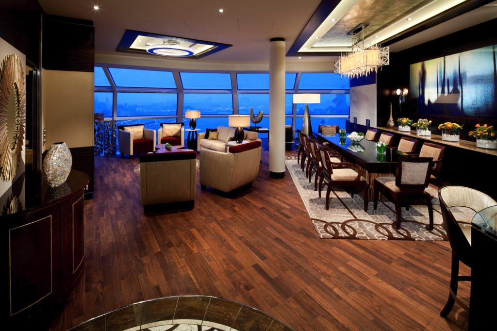 Reflection Suite. Courtesy Celebrity Cruises.