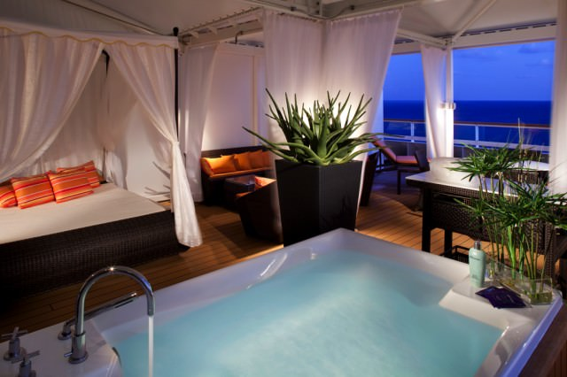Spa Villa On Seabourn Odyssey