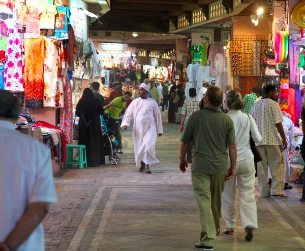 At The Muttrah Souq