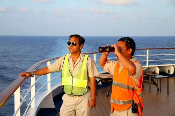 Lookouts on the Gulf of Aden