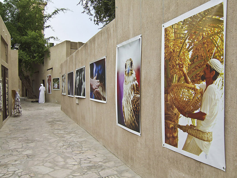 The oldest section of dubai dates back only to 1890
