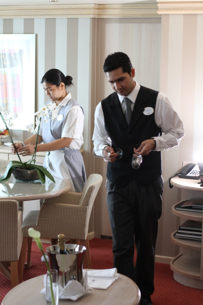 Silversea Butler and Room Attendant