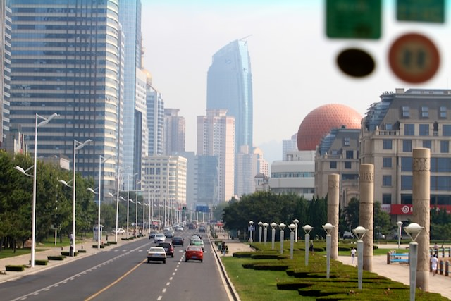 More than 8 million people live in Qingdao, which in 2009, was named China's most livable city.