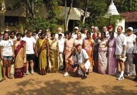A voluntourism group from Crystal Cruises