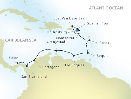 Silver Explorer itinerary