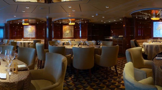 In Stars Supper Club on Silver Spirit, I enjoyed sampler menus and the musical talents of Mickki Brown. © 2013 Ralph Grizzle