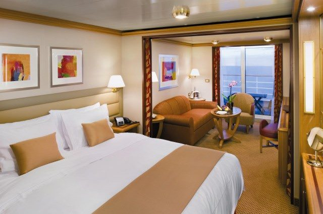 Veranda Suite on Silver Spirit.