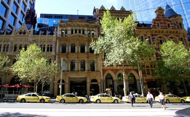 Mellow Yellow: Taxis in Melbourne, Australia