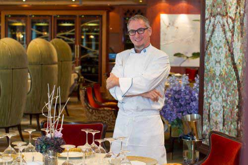 Chef in 150 Central Park on Royal Caribbean