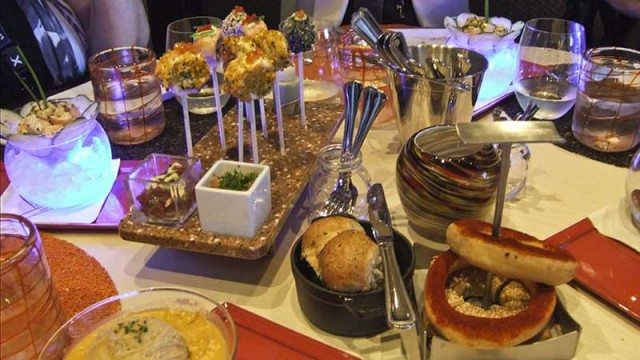 Small dishes and lots of choice at Qsine on Celebrity ships