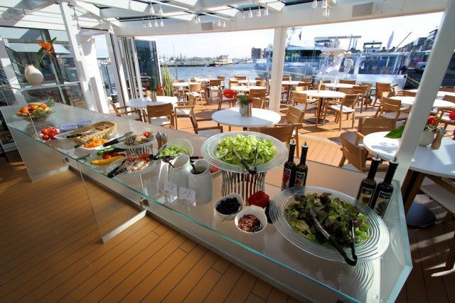 Viking's popular Aquavit Terrace will be making its way to the line's first oceangoing cruise ship, Viking Star, in 2015. Photo © 2012 Ralph Grizzle
