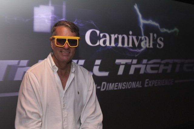 The Avid Cruiser at Thrill Theater on Carnival Breeze
