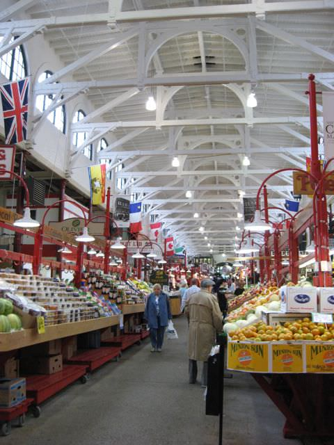 The City Market in Saint John, New Brunswick - the oldest continually-operating market in Canada. Photo © Aaron Saunders