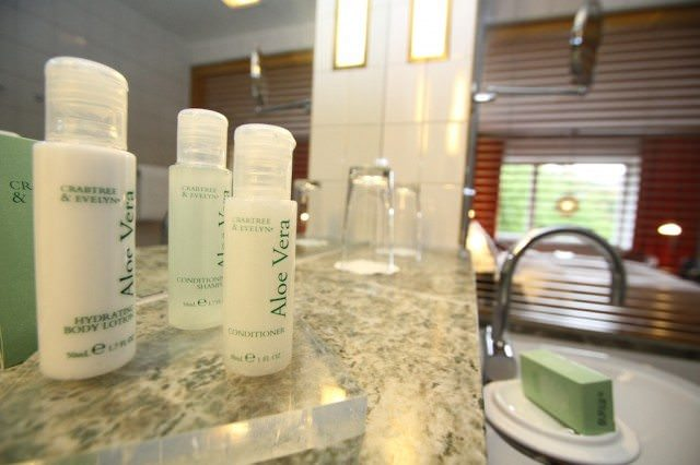 Crabtree & Evelyn bath amenities Hotel Rival Stockholm
