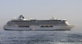 Crystal Serenity will circumnavigate the glove in the winter and spring of 2015. © 2012 Ralph Grizzle