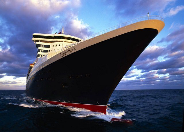 Starting on October 27, follow along with us as we travel to New York to embark Cunard's Queen Mary 2 for an epic journey across the rugged North Atlantic! Photo courtesy of Cunard.