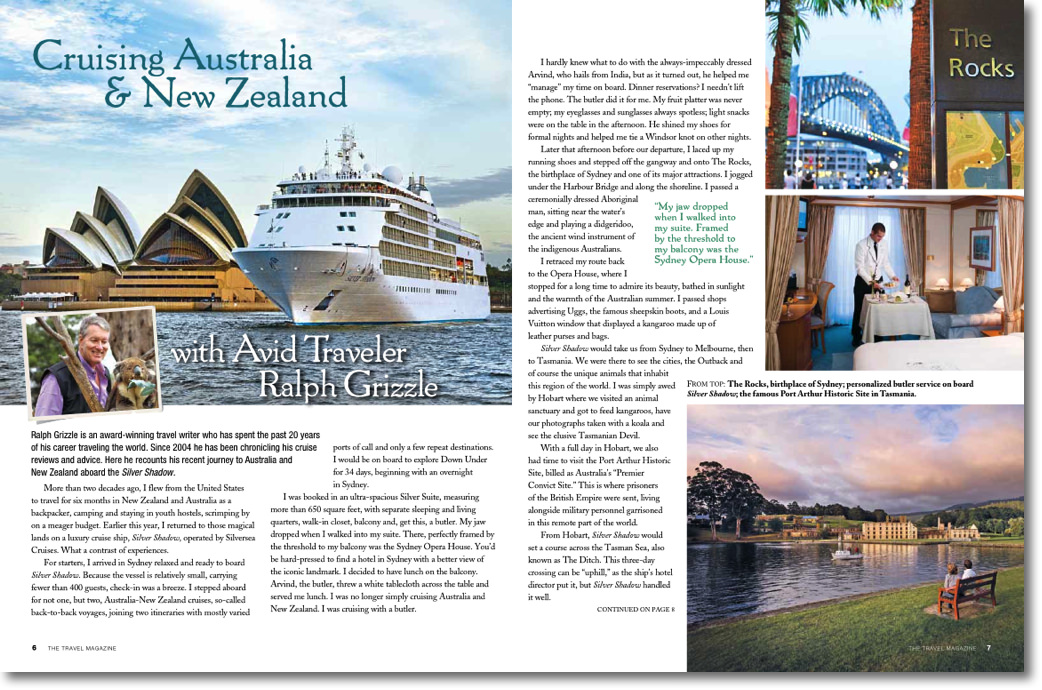 While I Get My Sea Legs, A Look Back: Cruising Australia & New Zealand On Silversea Cruises' Silver Shadow
