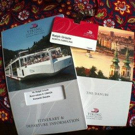 Documents for my Christmas Markets cruise