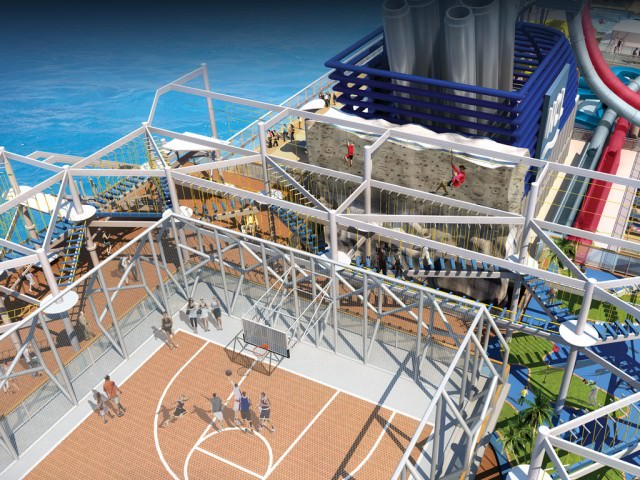 Norwegian Breakaway's Sports Complex