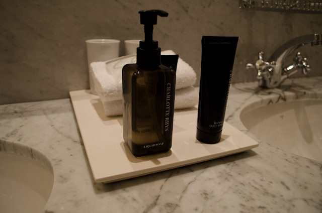 Bathroom amenities all originate from Cape Town & South Africa. Photo © 2013 Aaron Saunders