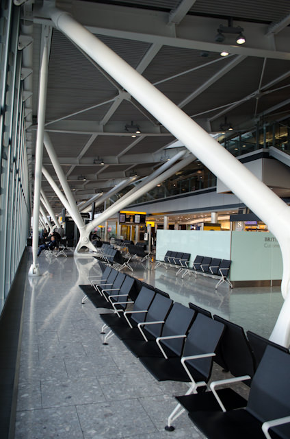 London's Heathrow Terminal 5B. Photo © 2013 Aaron Saunders