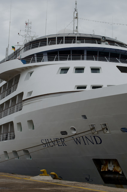 Silver Wind, docked in Maputo, Mozambique. Photo © 2013 Aaron Saunders