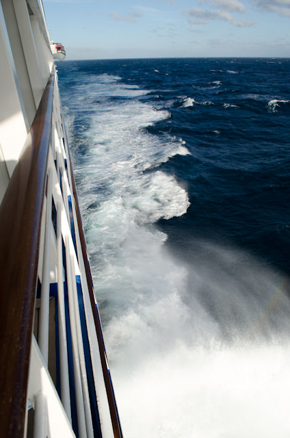 Sailing the turbulent Indian Ocean on our way back to Cape Town Photo © 2013 Aaron Saunders