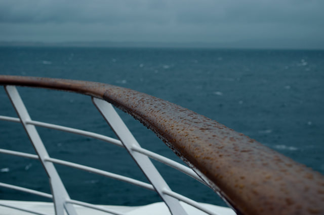 Sailing the turbulent Indian Ocean aboard Silver Wind. Photo © 2013 Aaron Saunders