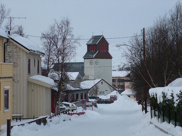 Brrr! Kirkenes is located in Norway's extreme far north, and is located as far away from the capital of Oslo as the state of Texas is from New York. Photo courtesy of Wikipedia / Creative Commons.