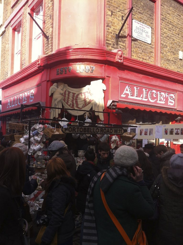 Alice's In Notting Hill