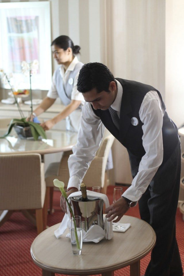 Silversea Butler and Housekeeper