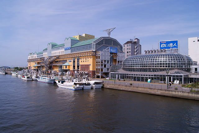 Kushiro, Japan is vibrant and modern. Photo courtesy of Wikipedia / Creative Commons