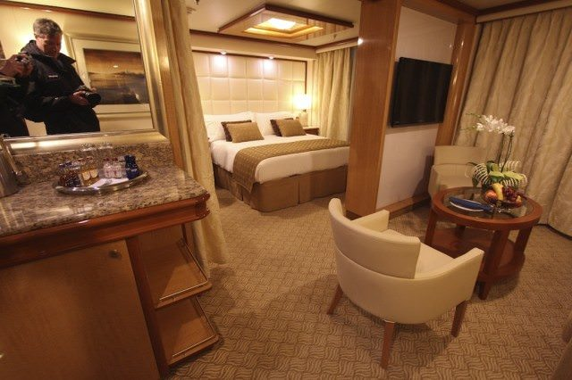 Royal Princess will feature 40 suites with private balconies. © 2013 Ralph Grizzle