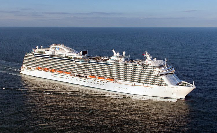 Regal Princess. Photo courtesy of Princess Cruises