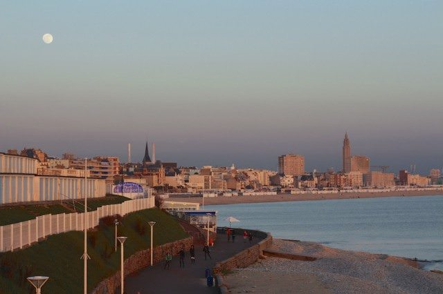 Full Moon Over Le Havre