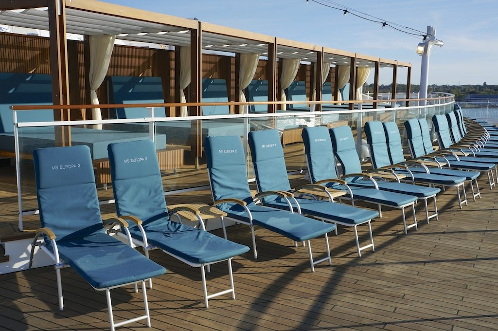 Aft Deck Chairs And Sun Beds